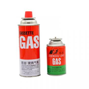 Portable gas stove for barbecue butane gas lighter gas and butane gas canister