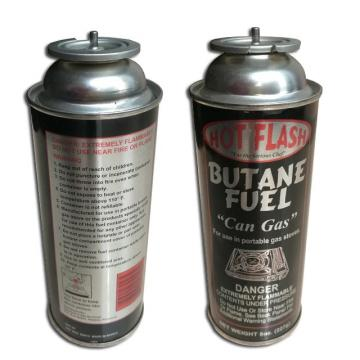 Camping Refill Butane Gas Fuel Energy Empty Tinplate Safety Powerful Butane Gas Canister 220G