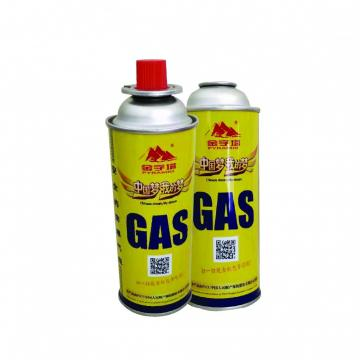 BBQ Fuel Cartridge Hot Sell Portable Butane Gas Cartridge 220g 227g