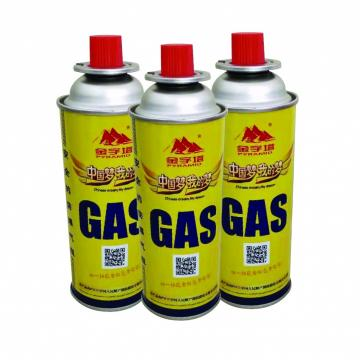 300ml factory butane gas Portable Butane Gas Cartridge