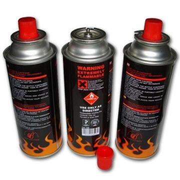 227g Round Shape Portable butane gas cartridge and butane gas canister for barbecue in the wild